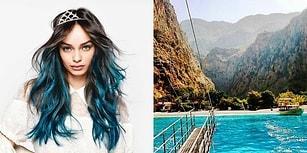 İdealindeki Tatili Yarat, Biz de Sana Saçını Hangi Renge Boyatman Gerektiğini Söyleyelim!