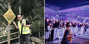 Fosforlu İşçi Yeleğiyle Her Yere Girildiğini Keşfedip Coldplay Konserini Beleşe Getiren Kafadarlar