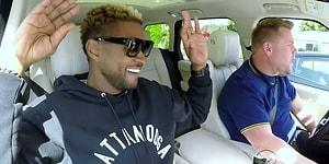 James Corden'la Carpool Karaoke'de Sıra 'Usher'da!