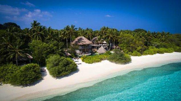 1. Soneva Fushi, Maldivler