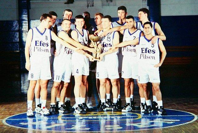 9. Basketbolumuzun geldiği noktada Efes Pilsen'in payı çok büyük.