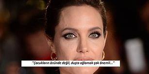 """Angelina Jolie'nin Boşanma Sonrasında Verdiği En Samimi Röportajı: """"Banyoda Gizlice Ağlıyordum"""""""