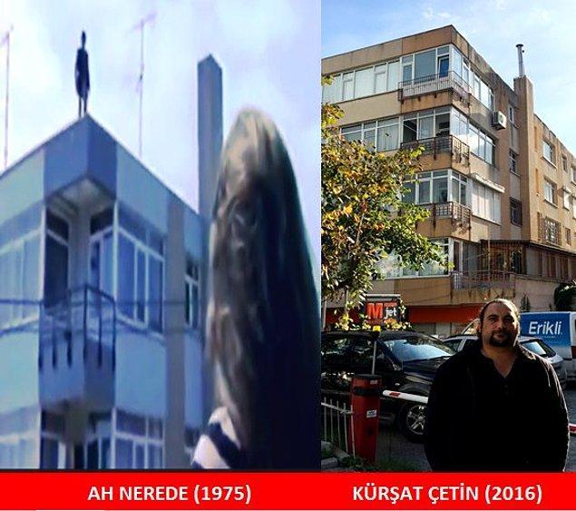 Ferit'in intihar girişiminde bulunduğu apartman.