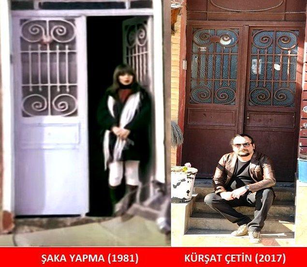 Jale'nin (Pembe Mutlu) kapısı da günümüze kadar korunup gelebilmiş kapılardan.