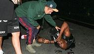 Justin Bieber Kendini Görüntülemek İsteyen Paparazziye Çarptı