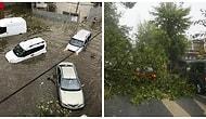 Çatılar Uçtu Araçlar Hasar Gördü! İstanbul Dolu, Yağmur ve Fırtınaya Teslim Oldu