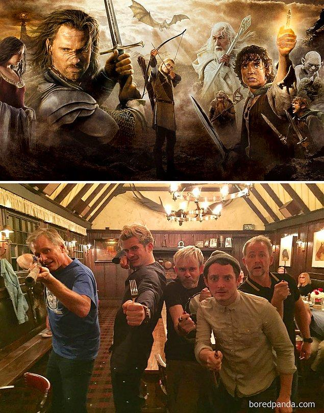 1. Lord of the Rings: 2001 - 2017