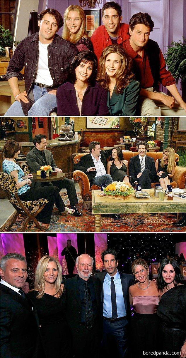 3. Friends: 1994 - 2004 - 2016