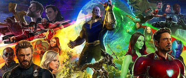 BONUS: Bu hafta Infinity War fragmanını çok bekledik ama fragman Comic-Con'da gösterilmesine rağmen İnternet'e verilmedi. Şimdilik posteriyle idare edelim: