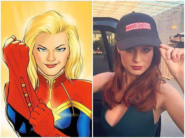 6. Gelelim Captain Marvel'a... Filmin hikayesinin 90'larda geçeceği açıklandı.