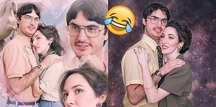 21. Yüzyıldan Sıkılanlardan mısınız? Nişan Fotoğrafları İçin 80'lere Işınlanan Çift