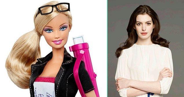 11. Barbie de film oluyor, başrolde muhtemelen Anne Hathaway olacak.