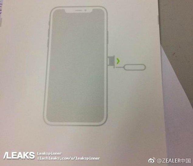 Teknoloji sitelerine bir kılıf tedarikçisi tarafından sızdırılan bu kalıp görselinin iPhone 8'e ait olduğu iddia ediliyor.