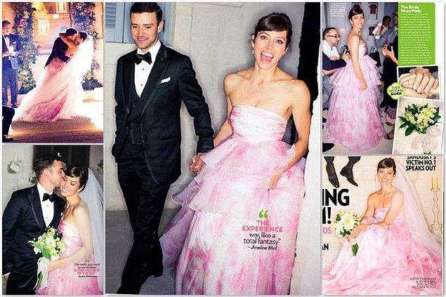 1. Son tanışma hikayemiz ise Justin Timberlake & Jessica Biel'den geliyor!