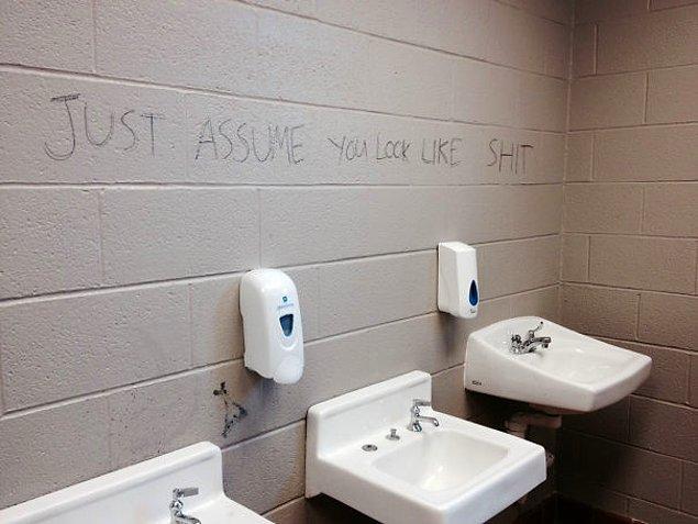 21. Okuldan aynalar kaldırılınca mizah konuşur.