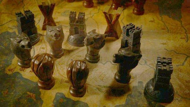 16. Kızıl Düğün'de her şey korkunçlaşmadan önce gösterilen haritada Starkların destek almak yerine Frey ve Bolton'lar tarafından kuşatılmışlardı.