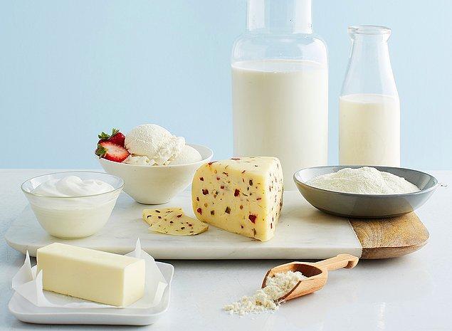 9. Süt ve süt ürünleri