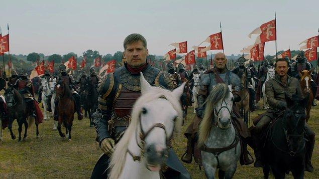 Lannister kardeşler durmuyor, Jaime de Yüksekbahçe'yi almaya gidiyor.