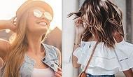 Bunaltıcı Yaz Günlerinde İşe giderken Tercih Edilecek Ferah ve Pratik 6 Saç Modeli