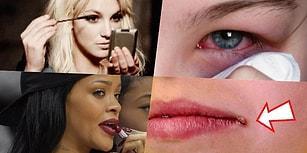 Makyaj Malzemelerinizi Başkalarıyla Paylaştığınızda Başınıza Gelebilecek 13 Korkunç Şey!