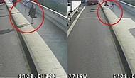 Koşu Yaparken Karşıdan Gelen Kadını Otobüsün Altına İten Adam