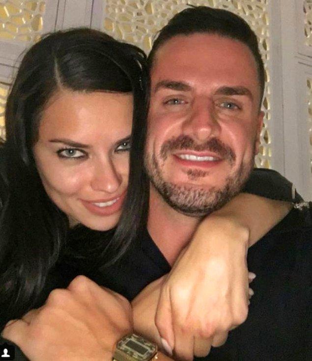 Lakin dün, Adriana Lima, eski boksör sevgilisi Miltiadis Kastanis ile buluştu ve üzerine de bu samimi fotoğraflarını Instagram'dan yayınladı.