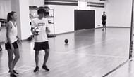 Enes Ünal ve Kendisi Gibi Futbolcu Olan Sevgilisinden Sıra Dışı Antrenman