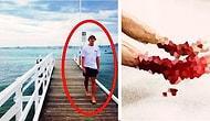 Denize Girdi ve Çıkıp Ayağına Bakınca Gözlerine İnanamadı!