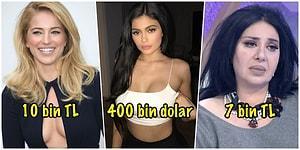 Ne Paralar Dönüyor! Sosyal Medyada Yaptıkları Tek Bir Paylaşımla Binlerce Lira Kazanan 19 Ünlü 😱