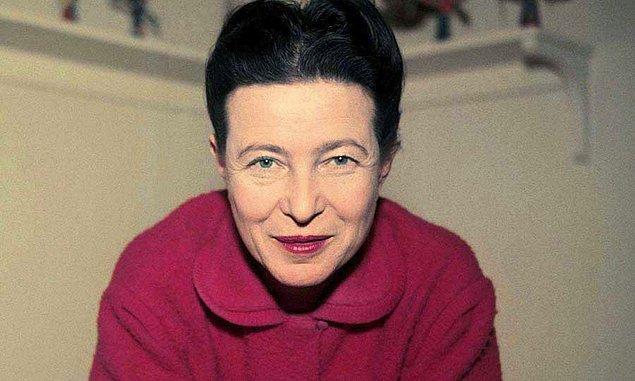 6. Simone de Beauvoir