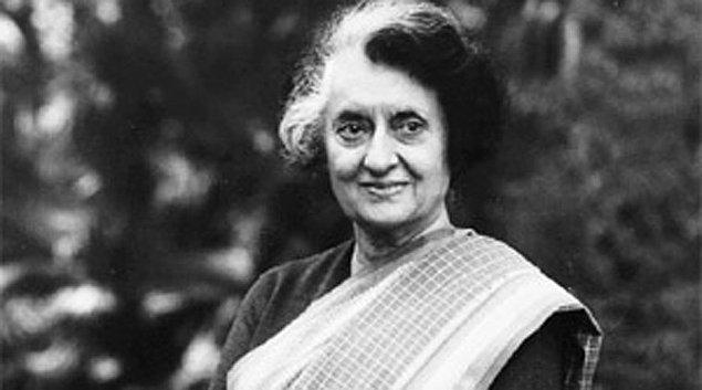 10. Indira Gandhi