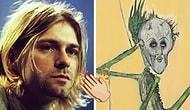Sanatının Her Boyutu Büyülüyor! Kurt Cobain'in Daha Önce Hiç Görmediğiniz Efsanevi Çizimleri