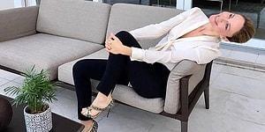 Tescilli Güzel Demet Şener'in Fotoğraflarda Dik Duramaması Sorunsalı