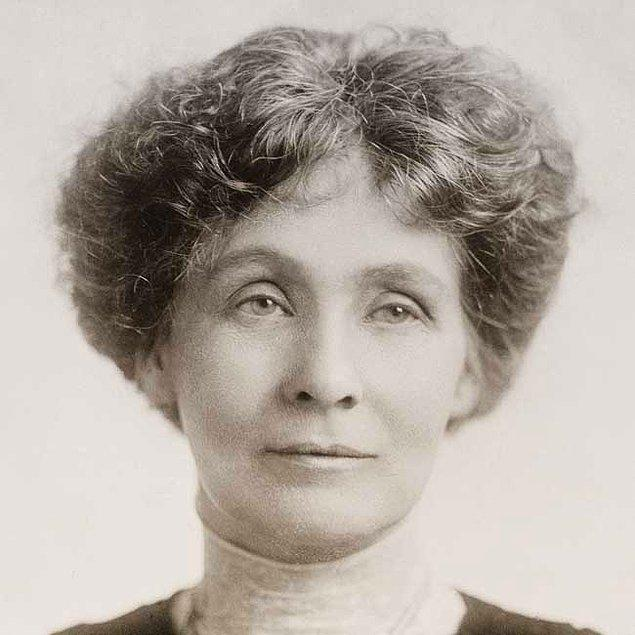 16. Emmeline Pankhurst
