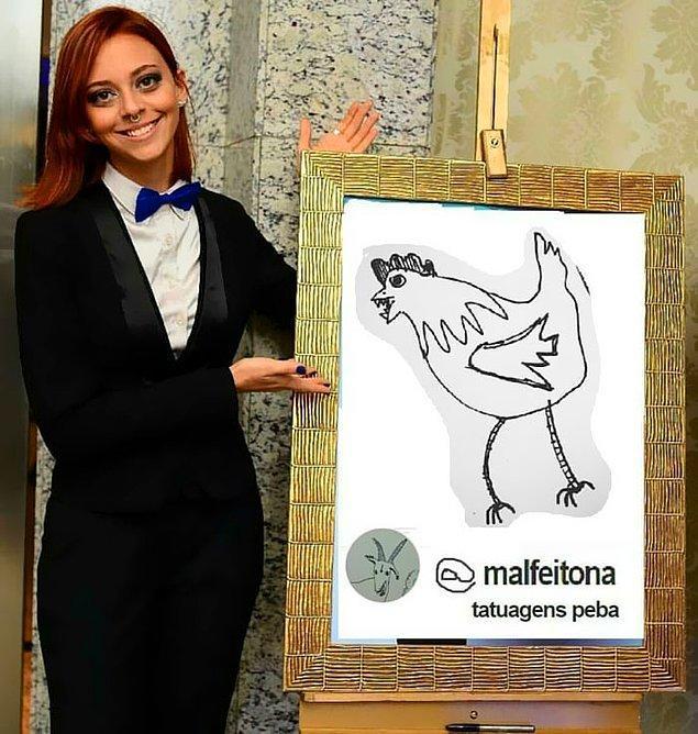 26 yaşındaki Brezilyalı sanatçı kendi konseptini yaratmış durumda.