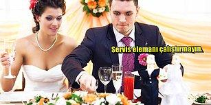 Az Parayla Yemekli Düğün Yapabilmeniz İçin Uygulayabileceğiniz 14 Tavsiye