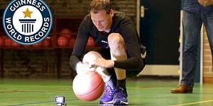 1 Dakikada 609 Sektirme ile Dünyanın En Hızlı Basketbol Topu Sektiren İnsanı Olan Adam