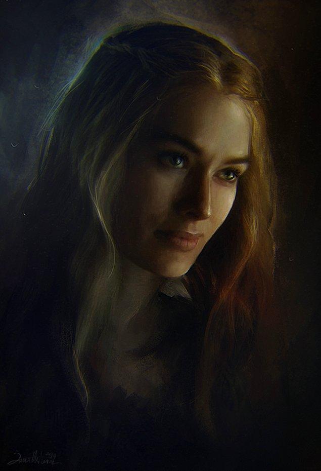 8. Skandallar kraliçesi Cersei Lannister.