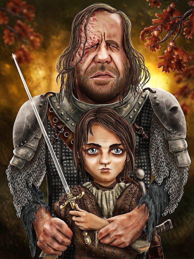 15. Tazı ve Arya. Her ikisinin de ortak özelliği intikam ve öldürmek.