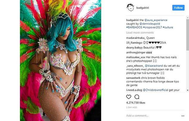 Chris, bildiğiniz gibi, şimdilerde hala Rihanna'ya Instagram yorumlarında dahi sinyaller gönderiyor.