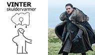 10 Milyon Dolarlık Dizi Game of Thrones'un IKEA Halılarından Yapılan 'Night Watch' Kostümleri
