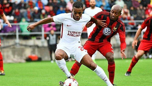 10. 2017-18 sezonu UEFA Avrupa Ligi 2. Ön Eleme maçında Galatasaray, İsveç ekibi Östersunds'a elenerek herkesi şaşkına uğrattı.