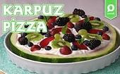 Dünyanın En Hafif Pizzası: Karpuz Pizza Nasıl Yapılır?