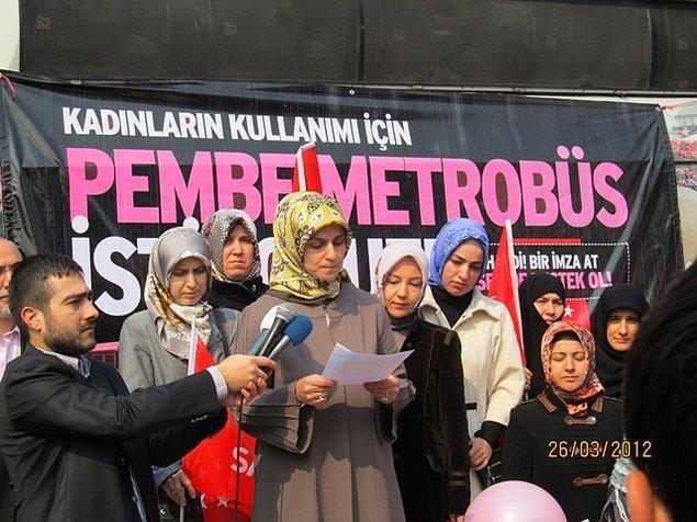 Ve bu öneriyi ilk kez 2012 yılında Saadet Partisi İstanbul İl Kadın Kolları gündeme taşımıştı.
