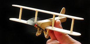 Dondurma Çubuklarından Uçak Nasıl Yapılır?