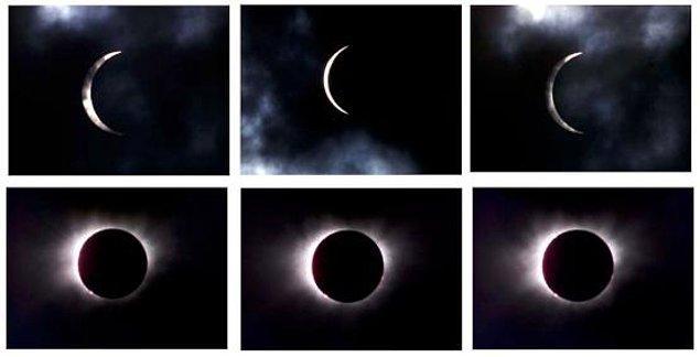 ABD üzerinden geçen son tam Güneş tutulması 38 yıl önce gerçekleşmişti.