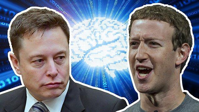 Yapay zeka yakın zamanda Elon Musk ve Mark Zuckerberg tarafından farklı açılardan yorumlanmış ve ikili arasında minik bir tartışmaya dönüşmüştü.