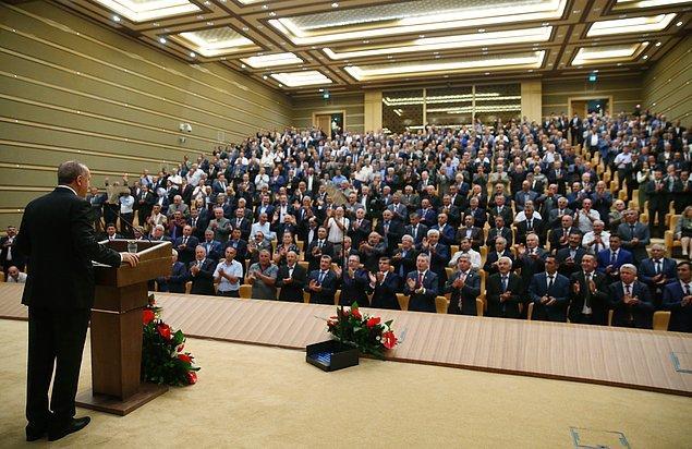 Cumhurbaşkanı Recep Tayyip Erdoğan 39. Muhtarlar Toplantısı'nda konuştu.