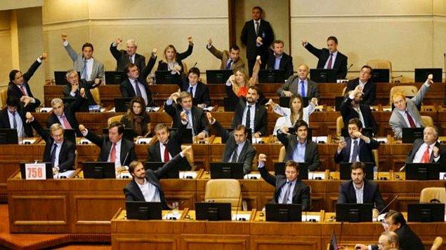 Kürtaja izin veren bir yasa iki yıllık tartışmanın ardından Şili Kongresi'nden geçmiş, fakat muhafazakarlar tarafından Anayasa Mahkemesi'ne taşınmıştı.