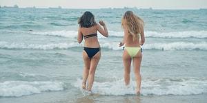 Plaj Kadını vs Beach Kadını